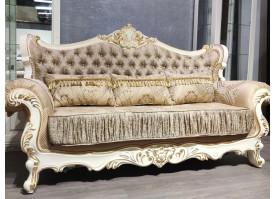 Мягкая мебель Валенсия 1 бежевая/крем