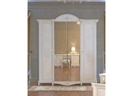 Шкаф 4-х дверный Да Винчи беж