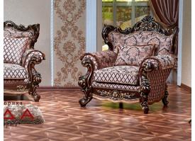 Кресло Оскар орех 1 (марсель коричневый) АКЦИЯ!