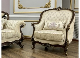 Кресло Мона Лиза орех Эра мебель