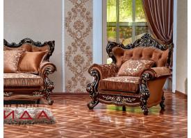 Кресло Оскар 2 орех (азалия коричневый) АКЦИЯ!