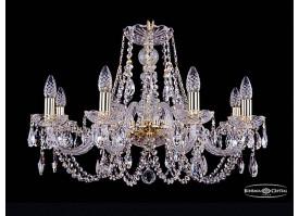 Люстра большая Bohemia Ivele Crystal 1406/8/240/G