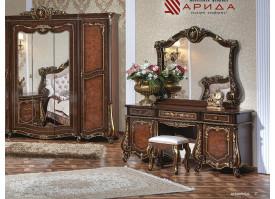 Туалетный стол с зеркалом Монреаль радика орех