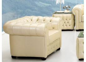 Кресло кожаное В-258