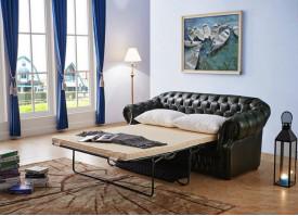 Диван-кровать 3-х местный В-128 (зеленый)