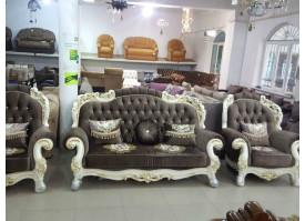 Мягкая мебель Романо (темная обивка)