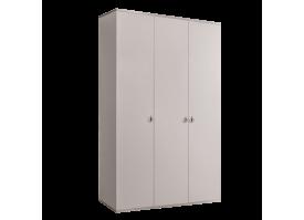 Шкаф 3-дв.Римини без зерк. (слоновая кость/серебро) СКИДКА -50%!