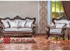 Мягкая мебель Оскар 1 орех (марсель бежевый) АКЦИЯ!