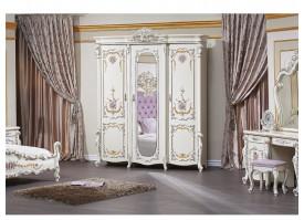 """Шкаф 3-дверный Венеция классик крем """"Арида мебель"""""""