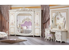 """Шкаф 6-дверный Венеция классик крем """"Арида мебель"""""""