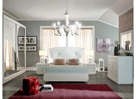 Спальня Камилла белая (Италия)