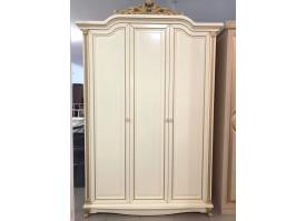 Шкаф 3-дверный Ариза ваниль