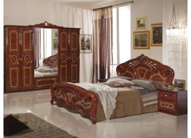 Спальня Роза орех (Диа мебель) - КУПИТЕ СО СКИДКОЙ