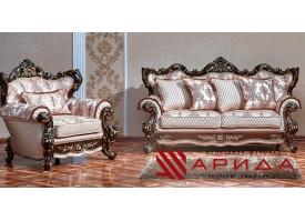 Мягкая мебель Оскар 1 орех (ассена бежевый) АКЦИЯ!