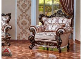 Кресло Оскар 1 орех (ассена бежевый) АКЦИЯ!