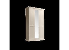Шкаф 3-дверный Венеция беж (с зеркалами)