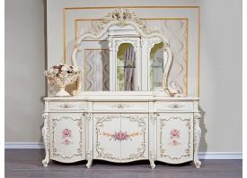 """Комод с зеркалом в гостиную Венеция классик """"Арида мебель"""