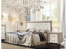 Кровать Тиффани Премиум серебро! СКИДКА - 25%