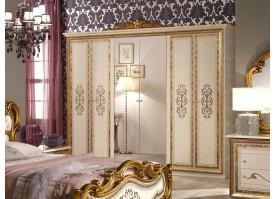 Шкаф 6-дверный Анита беж  - КУПИТЕ СО СКИДКОЙ