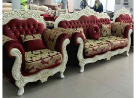 Мягкая мебель Корона (бордовая)