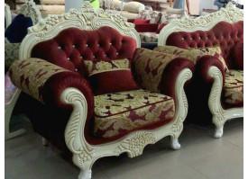 Кресло Корона (бордовое)