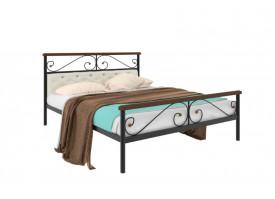 Кованая кровать Эрика Plus мягкая (5 цветов)