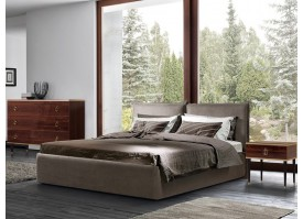 Кровать Бавено Baveno (ткань коричневая 12) СКИДКА -50%!