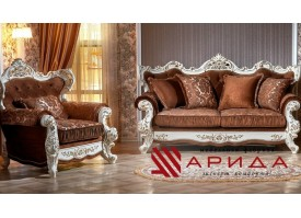 Мягкая мебель Оскар 2 крем (азалия коричневый) АКЦИЯ!