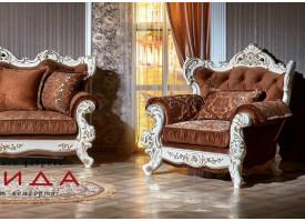 Кресло Оскар 2 крем (азалия коричневый) АКЦИЯ!