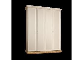 Шкаф 4-дверный Тиффани золото без зеркал АКЦИЯ! СКИДКА - 40 %